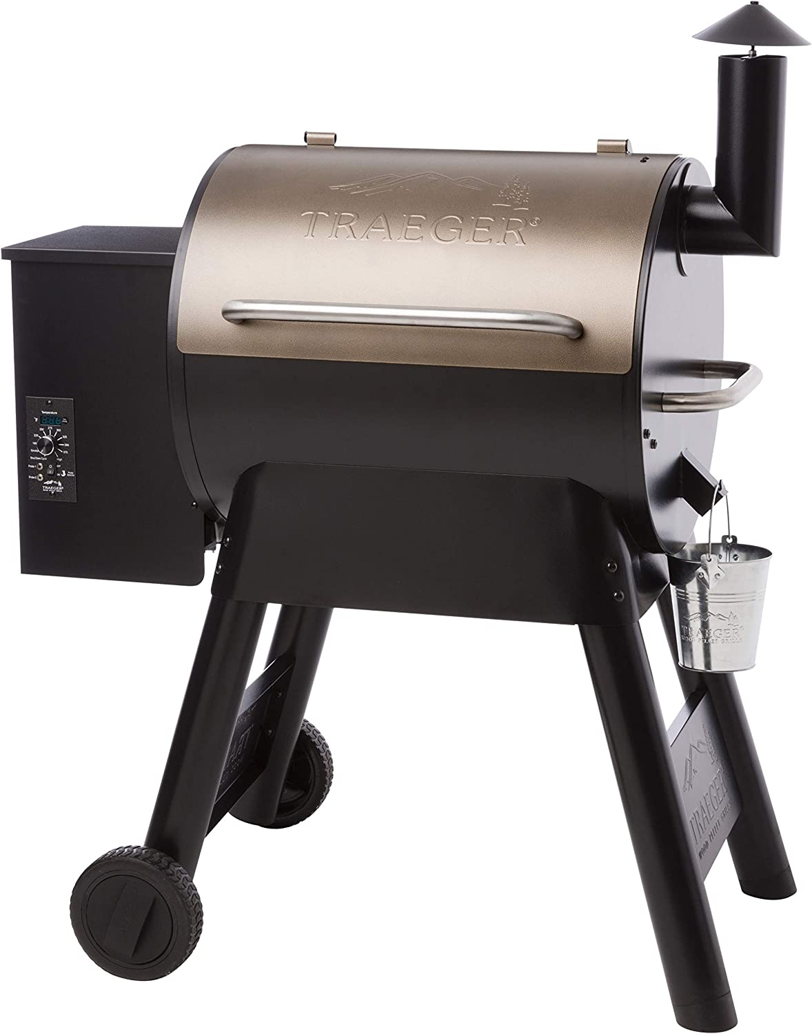 Traeger Grills Pro Series 22 Electric Wood Pellet Grill and Smoker