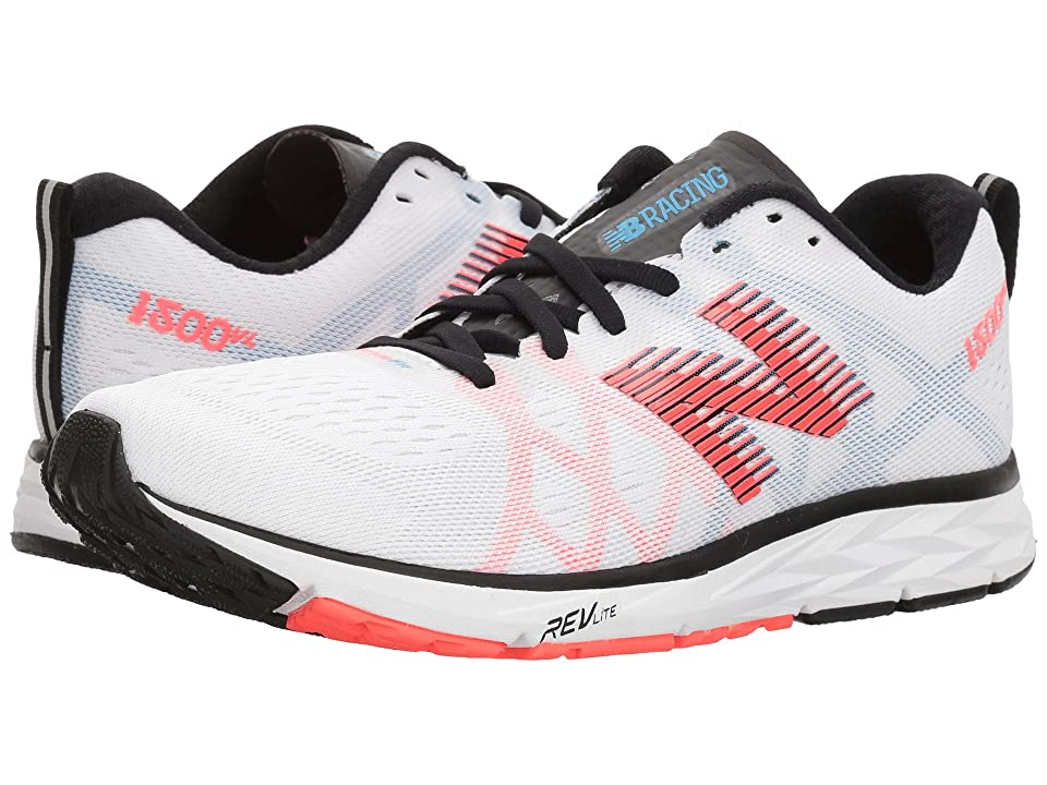 New Balance 1500v4 (White Munsell/Black/Vivid Coral/Maldives Blue) Women