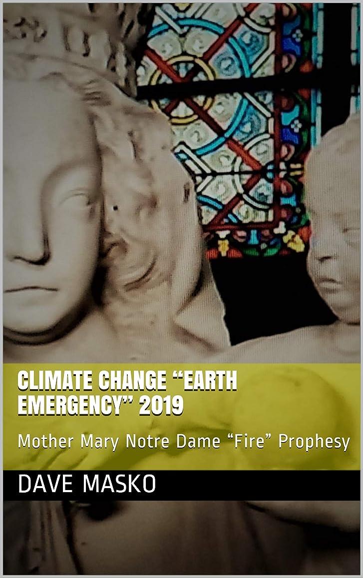 """楕円形劇作家スイClimate Change """"EARTH EMERGENCY"""" 2019: Mother Mary Notre Dame """"Fire"""" Prophesy (English Edition)"""