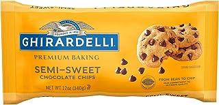 Ghirardelli Baking Chips, Semi Sweet Chocolate, 12 oz