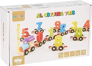 AL OSTOURA Educational Toys Digita Train Wooden