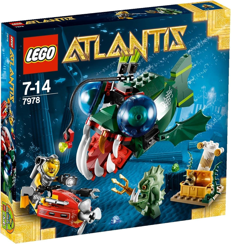 selección larga LEGO Atlantis 7978 - Ataque Ataque Ataque al Pescador (Ref. 4584112)  comprar barato