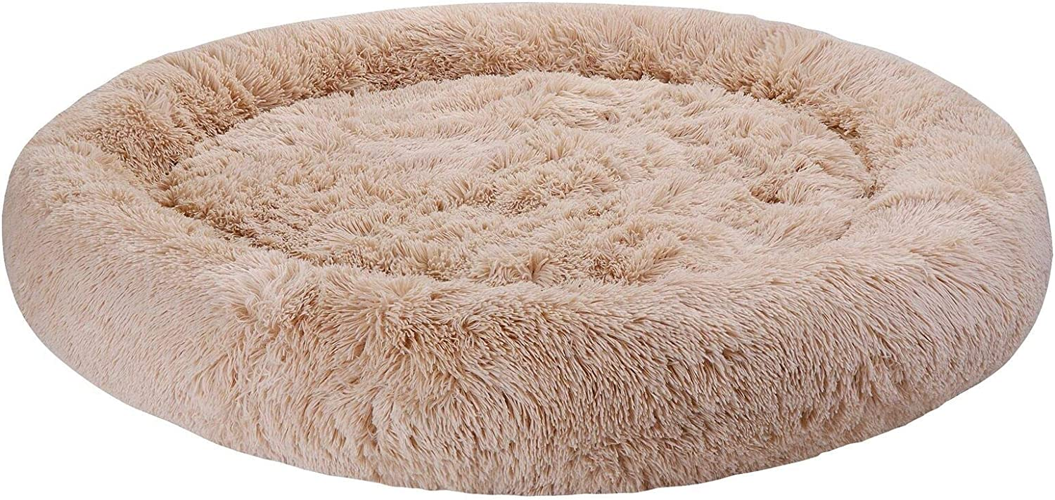 Diameter 45 Inch San Jose Mall famous Cozy Washable Warm Dog House Decor Bed Protect