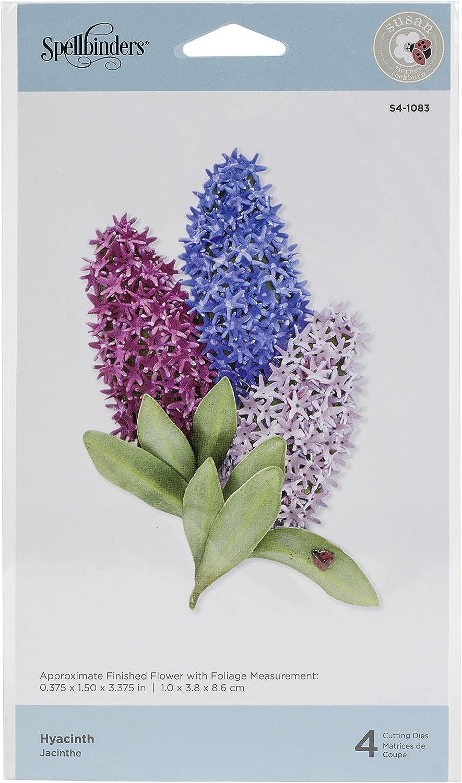 Spellbinders Etched Dies Hyacinth, Metal