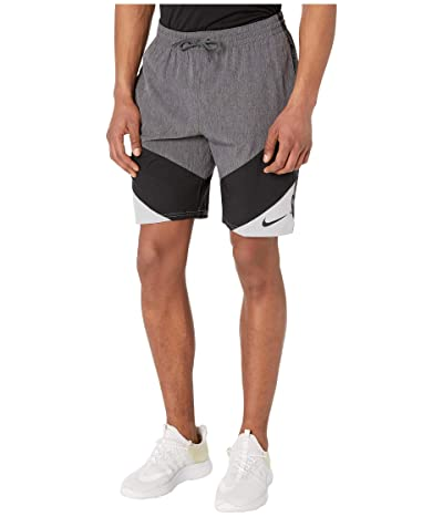 Nike 9 Logo Tape Vortex Volley Shorts (Iron Grey) Men