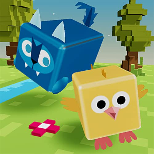 Hide and Chase - Pixel Town Hunt game for kids portable edition