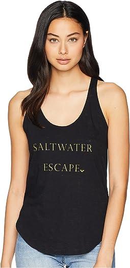 Saltwater Racerback Tank Top