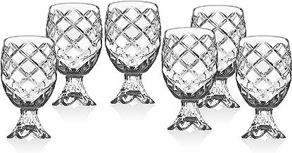 Pineapple Crystal Shot Glasses Beverege Drinkware by Godinger - Set of 6