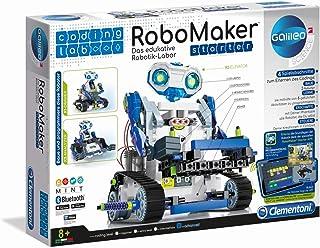 Clementoni-55331 - RoboMaker, Set de Iniciación - robot educativo a partir de 8 años