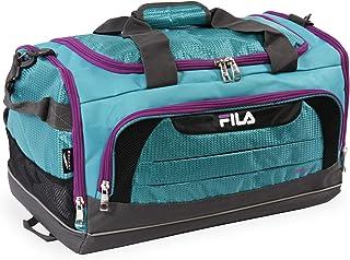 Fila Cypress Small Sport Duffel Bag, Teal/Purple, One Size