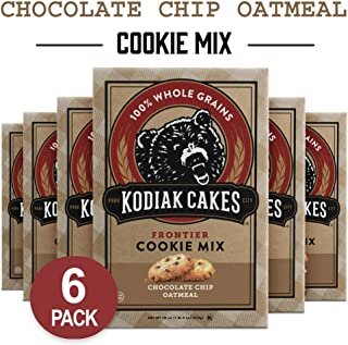 Kodiak Cakes Chocolate Chip Oatmeal Cookie Mix, 18-Ounce Boxes (Pack of 6) (Packaging May Vary)