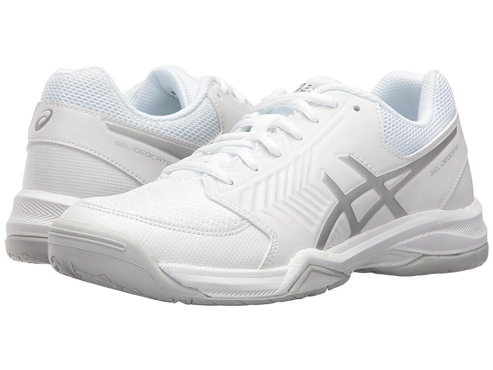 ASICS Gel-Dedicate 5 (White/Silver) Women