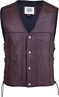 Brown Cowhide Highway 21 Vest
