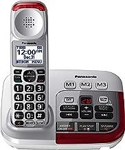 Panasonic KX-TGM450S Amplified Cordless Phone with Digital Answering Machine, 1 Handset , Silver (Renewed)