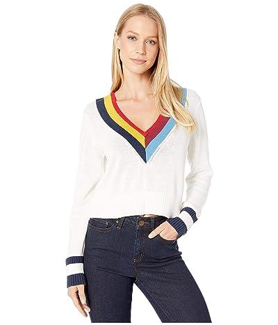 BCBGeneration Long Sleeve Pullover Sweater (Multi) Women