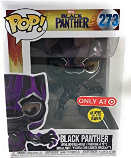 Funko POP! Marvel: Black Panther - Purple Glow Black Panther (Target Exclusive)