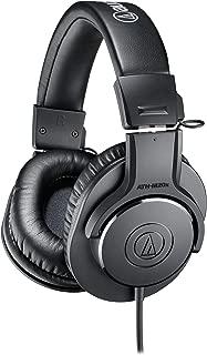 (Renewed) Audio-Technica ATH-M20X Over-Ear Professional Studio Monitor Headphones (Black)