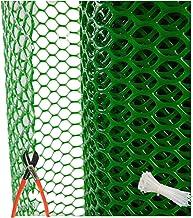 UR LITTLE SHOP PVC Garden Fencing Net/Mesh (3.3feet Height/15feet Length) UV Stabilized 800GSM Anti Bird Net Green Color w...
