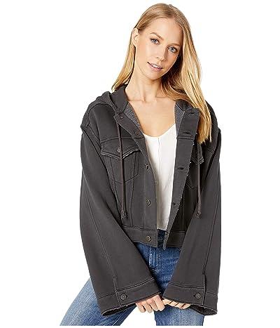 Free People Dreamers Jacket (Dark Grey) Women