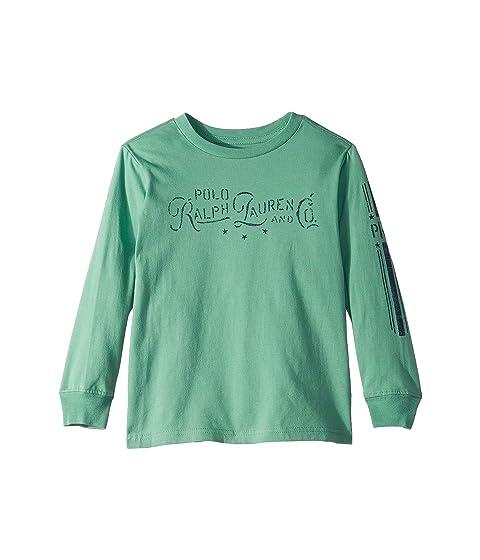 Polo Ralph Lauren Kids Cotton Jersey Graphic T-Shirt (Little Kids Big Kids) 890a64478