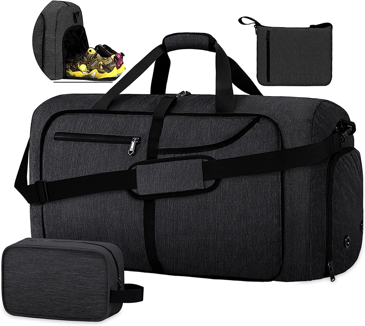 Duffel Bags for Traveling 80L Overnight Cheap M Foldable Department store Weekender