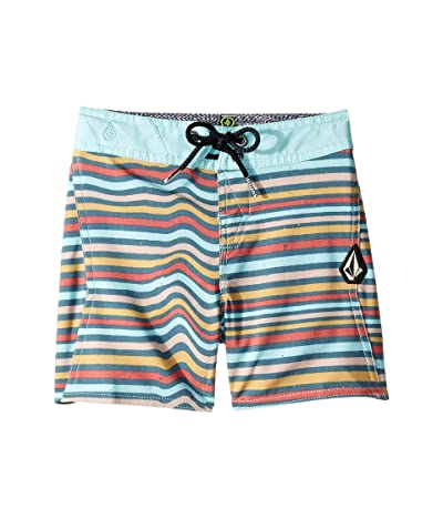 Volcom Kids Aura Boardshorts (Toddler/Little Kids) (Sea Navy) Boy