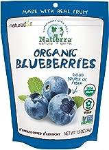 Natierra Nature's Organic Freeze-Dried Blueberries   Gluten Free & Vegan   1.2 Ounce