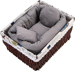 Sunmig Newborn Baby Photo Wheat Donut Posing Pillow Basket Filler Stuffer Baby Photography Photo Prop (Grey)