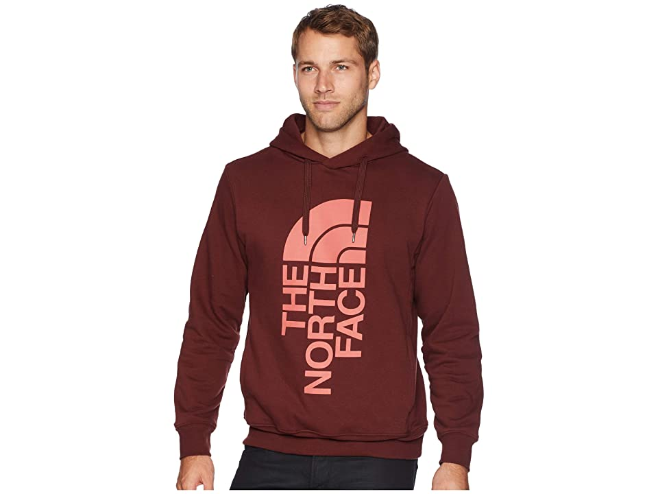 The North Face Trivert Pullover Hoodie (Sequoia Red/Faded Rose) Men