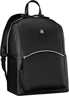 Wenger LeaMarie, mochila portátil, portátiles hasta 14″, tabletas hasta 10″, 18 l, mujer, hombre, negocios, universidad, escuela, negro