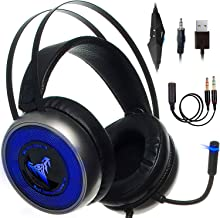 [Upgraded 2020] Gaming Headset IMBA V8 for 3D Surround...