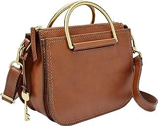 Fossil Ryder Leather 22.86 cms Brown Messenger Bag (ZB7660)