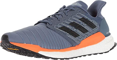 Adidas Men's Solar Boost Running chaussures, tech Ink gris hi-res Orange, 13 M US