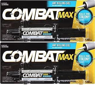 Combat 023400044542 Max, Ant Killing Gel, 27 Grams (2 Pack).