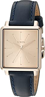 Nixon Women's A4722160-00 K Squared Analog Display Japanese Quartz Blue Watch