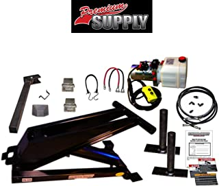 Hydraulic Hoist Kit- 20,000 lbs- Dump Trailer- 12V- Scissor Hoist Kit Complete.