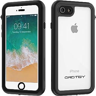 ORDTBY iPhone 7/8 Waterproof Case, Underwater Full Sealed Cover IP68 Certified for Waterproof Snowproof Shockproof and Dustproof Case for iPhone 7/8 (Clear)