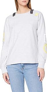 G-STAR RAW Sleeve Print Tweater Sudadera para Mujer