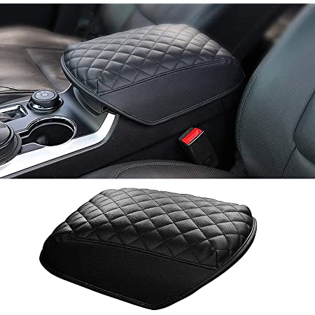 Waterproof Car Armrest Seat Box Cover for AMG MONCAR Center Console Cover Pad for Mercedes AMG Leather Auto Armrest Cover for Mercedes