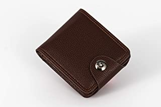 JY_shop Wallet for Men Anti-theft Wallet Credit Business Card & ID Cases Purse Money Cash Holder -brown
