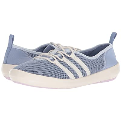 adidas Outdoor Terrex CC Boat Sleek (Chalk Blue/Chalk White/Aero Pink) Women