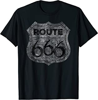 Route 666 Shirt The Devils Highway, Road To Hell