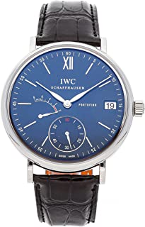 IWC Portofino Mechanical (Hand-Winding) Blue Dial Mens Watch IW5101-06 (Certified Pre-Owned)