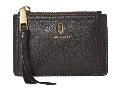 Marc Jacobs Top Zip Multi Wallet (Black) Wallet Handbags