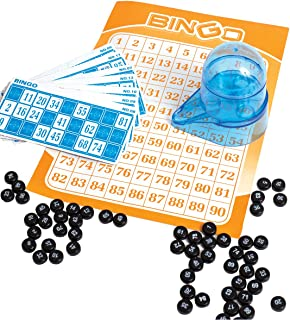 Perfect Life Ideas Portable Car Travel Bingo Game - Bingo Game Kit for Kids Boys Girls Adults Family - Ideal for Bridal Showers Christmas Holidays Parties - Vintage Learning Toy Minii Bingo Set by