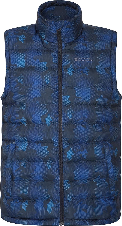 Mountain Warehouse Seasons Mens Padded Puffer Vest -Sleeveless Jacket