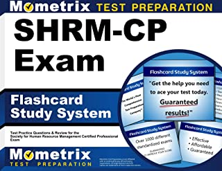 SHRM-CP Exam Flashcard Study System: SHRM Test Practice Questions & Review for the Society for Human Resource Management Certified Professional Exam (Cards)