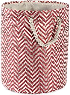 DII, Woven Paper Basket/Bin Medium Round CAMZ38105