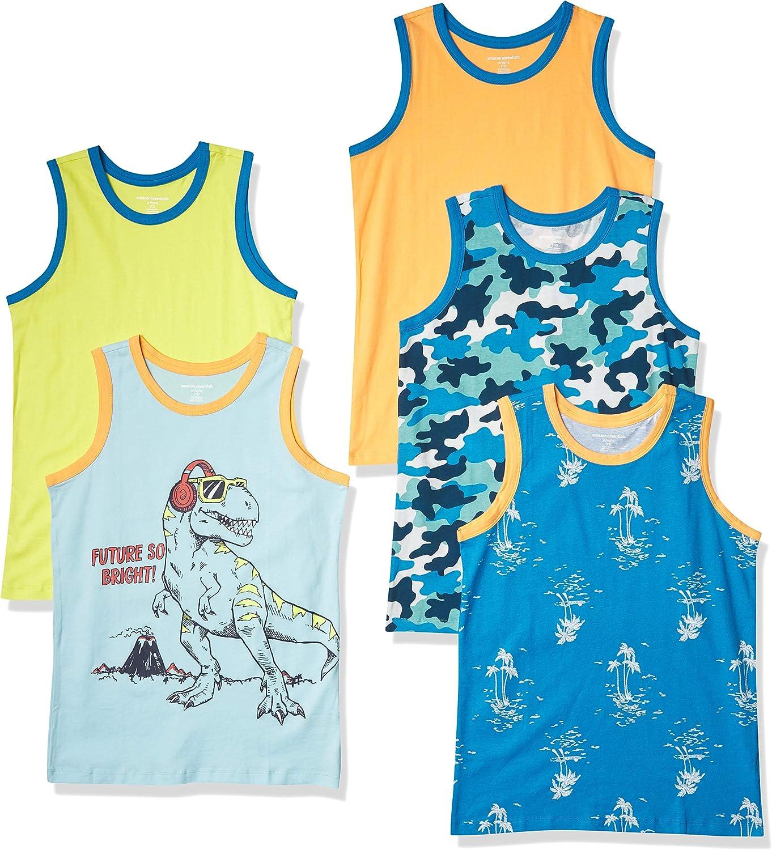 Essentials Boys Sleeveless Tank Tops