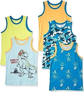 Amazon Essentials Sleeveless Tank Tops Tank-Top-and-Cami-Shirts Niños (Pack de 5)